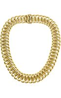 Olivia Collings 18-karat Gold Necklace - Lyst