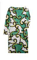 Diane Von Furstenberg Silk Dress - Lyst