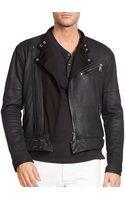 Ralph Lauren Black Label Moto Jacket - Lyst