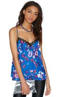 Nasty Gal Stay On Tropic Top - Lyst