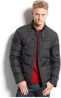 Calvin Klein Puffer with Zipper Coat Slim Fit - Lyst