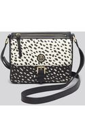 Tory Burch Crossbody  Kerrington Dot Pony Printed Mini - Lyst