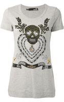 Love Moschino Printed Tshirt - Lyst