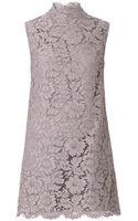 Valentino Bowdetail Lace Dress - Lyst