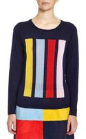 Lisa Perry Bars Sweater - Lyst