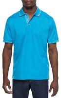 Robert Graham Mercerized Short-sleeve Polo Shirt - Lyst