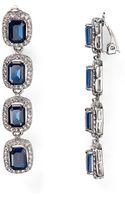 Carolee Large Linear Clip On Earrings - Lyst
