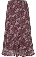 Topshop Romance Bias Skirt by Band Of Gypsies - Lyst