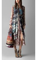 Burberry The Bloomsbury in Hand-painted Canvas Check - Lyst