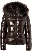 Duvetica Adhara Down Jacket with Furtrimmed Hood - Lyst