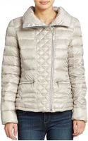 Laundry By Shelli Segal Lightweight Down Jacket - Lyst