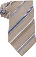 Kenneth Cole Silk Stripe Tie - Lyst