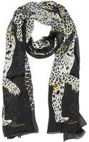 Roberto Cavalli Leopard Print Silk Stole - Lyst
