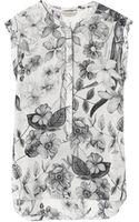 Rebecca Taylor Botanical Print Top - Lyst