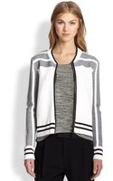 Rag & Bone Sammi Striped Knit Jacket - Lyst