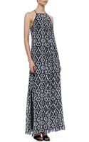 10 Crosby Derek Lam Jungle Printed Maxi Dress - Lyst
