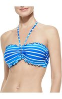Seafolly Miami Stripe Dd U Tube Top - Lyst