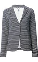 Woolrich Striped Blazer - Lyst
