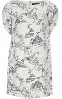 French Connection Anastasia Crepe Dress - Lyst