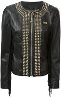 Philipp Plein Studded Fringe Jacket - Lyst
