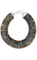 Nakamol Crystal Beaded Collar Necklace - Lyst