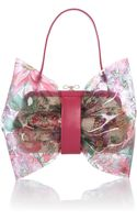RED Valentino Transparent Multi Coloured Bow Grab Bag - Lyst