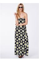 Missguided Reynalda Maxi Dress in Daisy Print - Lyst