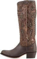 Frye Deborah Deco Tall Boot - Lyst
