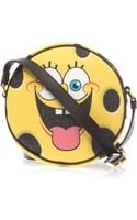 Moschino Spongebob Leather Crossbody Bag - Lyst