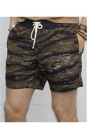Denim & Supply Ralph Lauren Camo Poplin Surf Short - Lyst