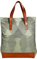 Missoni Cottonleather Tote - Lyst
