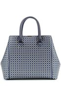 Victoria Beckham Perforated Liberty Leather Tote - Lyst