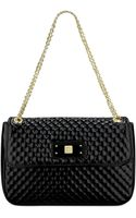Anne Klein In Stitches Medium Shoulder Bag - Lyst