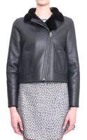 Tory Burch Caroline Leather Jacket - Lyst