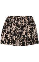 Thakoon Addition Printed Stretch Silk-blend Shorts - Lyst