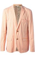 Etro Checked Blazer - Lyst