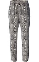 Marc By Marc Jacobs Printed Trouser - Lyst