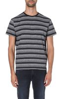 Marc By Marc Jacobs Vaughn Striped T-shirt - Lyst