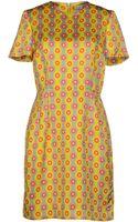 Jonathan Saunders Short Dress - Lyst