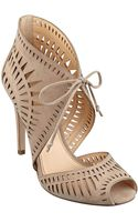 Ivanka Trump Delfino Caged Sandals - Lyst