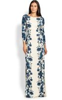 Tory Burch Stacy Maxi Dress - Lyst
