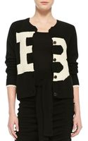Band Of Outsiders Broken B Knit Cardigan - Lyst
