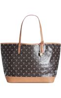Tommy Hilfiger Monogram Coated Logo Tote - Lyst