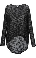 Helmut Lang Sheer Sweater - Lyst