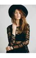Intimately Lindsey Embroidered Top - Lyst
