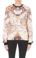 Criminal Damage Atlas Printed Sweatshirt - Lyst