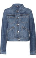 Closed Stretch Denim Jacket - Lyst