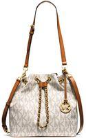 MICHAEL Michael Kors Frankie Large Convertible Drawstring Shoulder Bag - Lyst