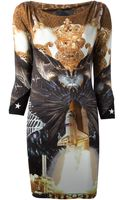 Philipp Plein Printed Dress - Lyst