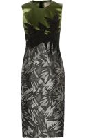 Jason Wu Embellished Satin and Jacquard Dress - Lyst